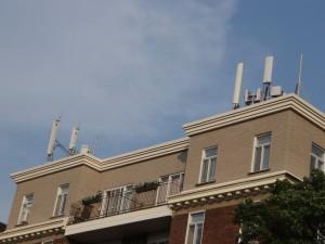Antennes de télécommunication à Outremont