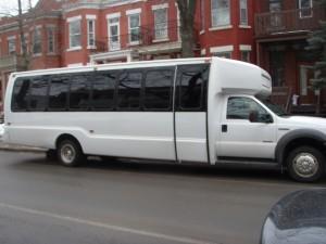 Autobus utilisés pendant la Pourim