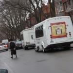 Autobus sur rue Durocher