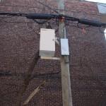 2- Équipement de Bell installé sur un poteau
