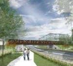Pont ferroviaire sur le Campus Outremont
