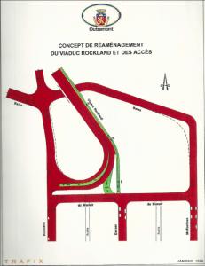 Réaménagement du viaduc Rockland