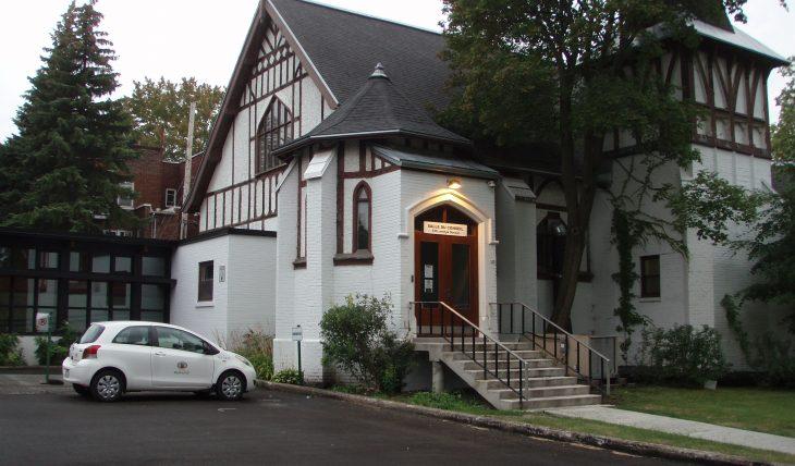 Salle du conseil d'arrondissement d'Outremont
