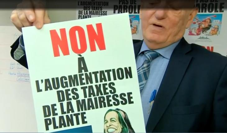 Non aux hausses de taxes à Montréal